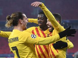 Koeman salue le 'grand joueur' Ousmane Dembélé. Goal