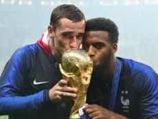 Griezmann Lemar France. Goal