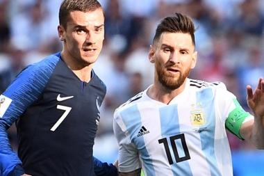 Griezmann Messi França Argentina 03 09 2018. Goal