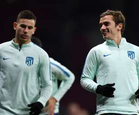 Lucas Hernandez has called on Antoine Griezmann to join him at Bayern. GOAL