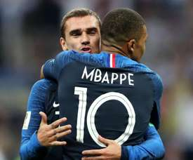 Griezmann and Mbappe are both nominated for this year's Ballon d'Or award. GOAL
