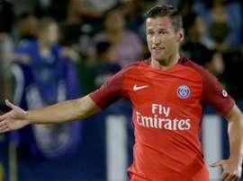 Grzegorz Krychowiak has not found a spot in PSG's team. Goal