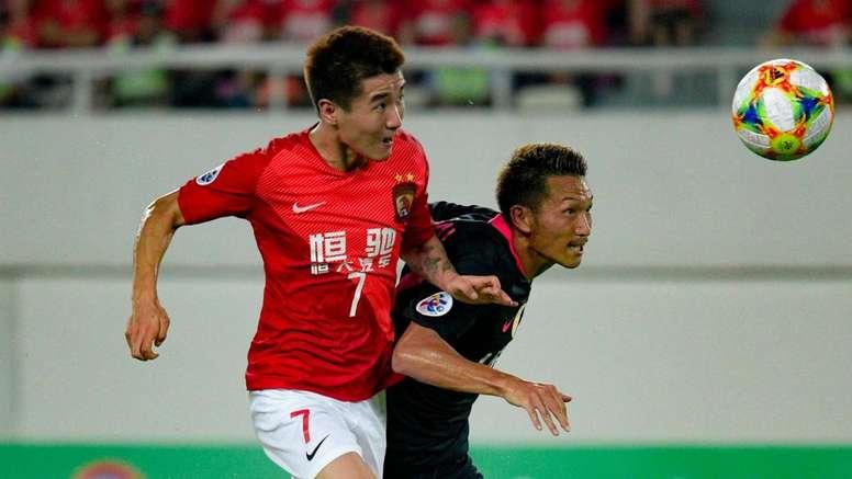 Guangzhou Evergrande 0-0 Kashima Antlers. GOAL