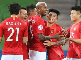 Guangzhou Evergrande progressed. GOAL