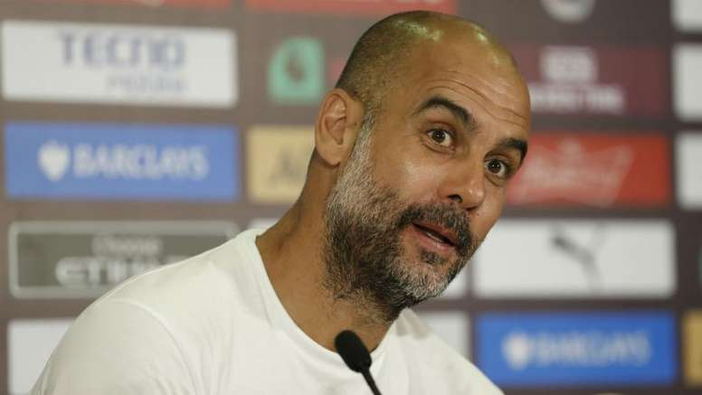 Guardiola's City have made few signings this transfer window. GOAL
