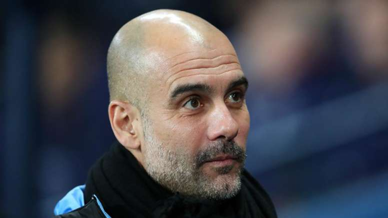 Guardiola: Real Madrid are the club Manchester City want to emulate. AFP