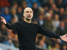 Pep Guardiola is not concerned that Liverpool could break Man City's records. GOAL