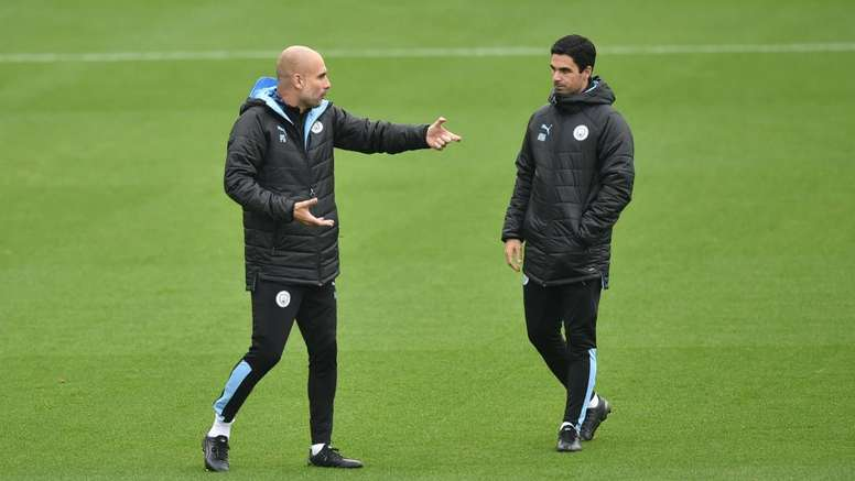 Guardiola reckons Arteta may leave Man City to replace Emery at Arsenal. GOAL