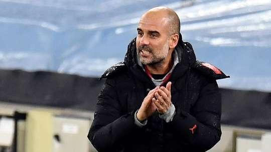 Guardiola ne veut pas parler du titre après la dernière victoire de Man City. Goal