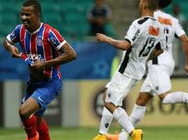 Guilherme com a camisa do Bahia. Goal