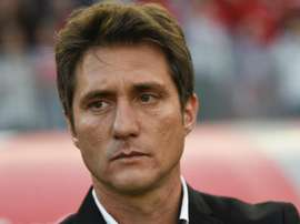 Guillermo Barros Schelotto is upset that the game cannot be played in Argentina. GOAL