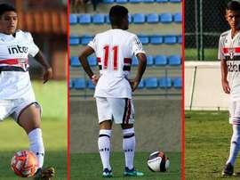 Gustavo Maia, atacante do São Paulo comprado pelo Barça. EFE