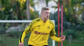Haaland not afraid of big-club pressure at Borussia Dortmund. GOAL
