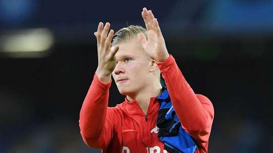 Salzburg confirm Haaland transfer talks with Borussia Dortmund and RB Leipzig. GOAL