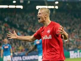 Haland, o protagonista de um RB Salzburg histórico. Goal