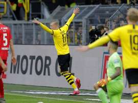Haaland frappe encore, Dortmund explose l'Union Berlin. Goal