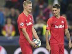 Champions League debut hat-tricks
