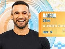 Hadson Nery é ex-jogador de futebol e está no BBB20. Goal