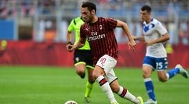 Milan, Pioli prova il 4-2-1-3: Calhanoglu esterno d'attacco, Leao alternativa a Piatek. Goal