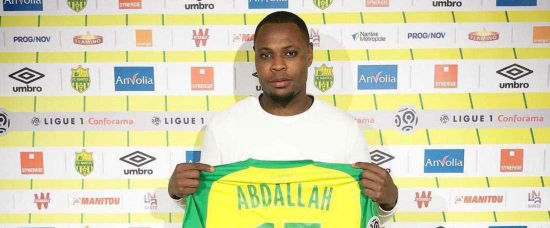 Abdallah veut retrouver son niveau d'avant. GOAL