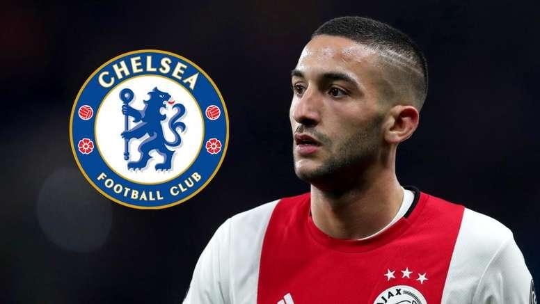 Como Ziyech pode afetar o futuro de Willian no Chelsea. Goal