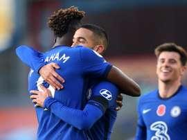 Les Blues déroulent avant Rennes. afp