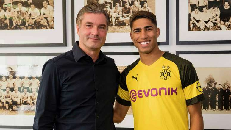 Dortmund assina por empréstimo com Hakimi, do Real Madrid. Goal