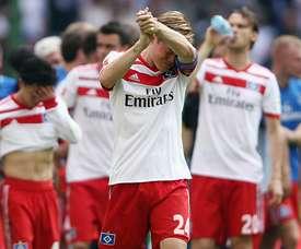 O Hamburgo foi despromovido. Goal