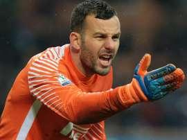 Handanovic veut la Ligue des champions. AFP
