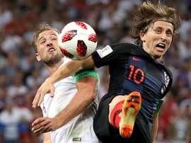 Modric believes Kane will get better and better. GOAL