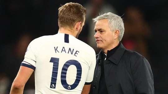 Mourinho évoque la saison de Kane. GOAL