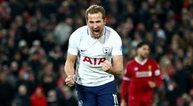 Kane a permet à Tottenham d'accrocher le nul. Goal