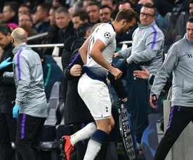 Harry Kane poderá ficar de fora até ao final da temporada. Goal