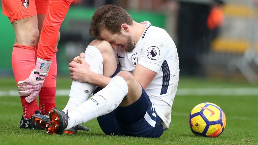Kane touché aux ligaments de la cheville — Tottenham
