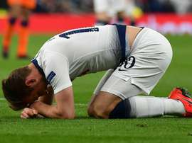 Harry Kane went down injured in last night's victory over Man.CIty. GOAL