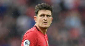 Maguire has been praised by Solskjaer after just two weeks at the club. GOAL