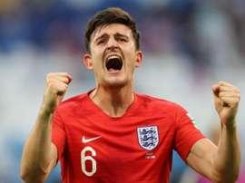 Jogadores ingleses satisfeitos com o apuramento. Goal