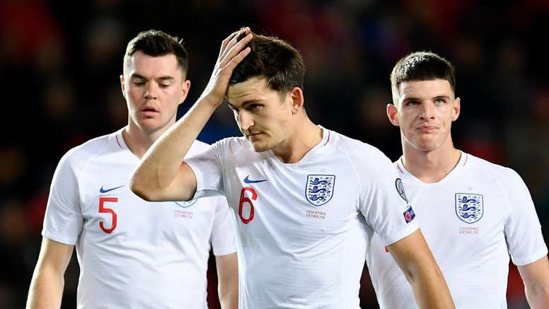 Maguire and others were criticised by Southgate after the loss to Czech Republic. GOAL