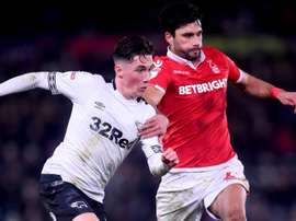Derby County 0 Nottingham Forest 0: Lampard's men fourth after tense stalemate.