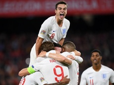 England beat Spain 2-3 in Seville. GOAL