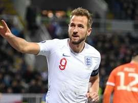England: Prolific Kane matches Dean. GOAL