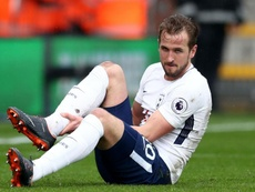 Harry Kane's ankle injury. Goal