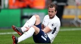 Harry Kane's ankle injury. Goal