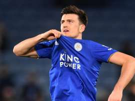 Harry Maguire is seeking a move away from Leicester City this summer. GOAL