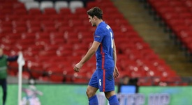 Harry Maguire's miserable run continues after seeing red for England. GOAL