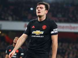 Maguire is out. GOAL