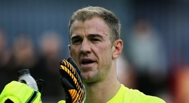 Guardiola admitted he may have made a mistake in letting  Joe Hart leave City. GOAL