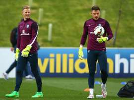 Butland shocked by Hart absence