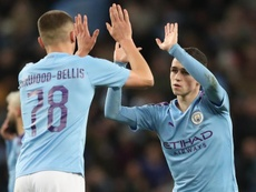 Guardiola believes Harwood-Bellis and Foden have bright futures at the club. GOAL