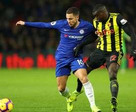 Hazard dans l'histoire des 'Blues'. Goal